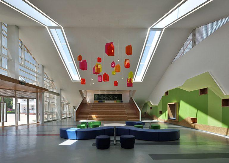 The Third Space Zhuoyu Pavilion, Hewai Elementary School, Yuxi City, Yunnan Province, China
