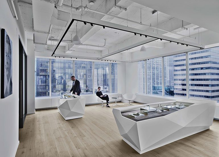 Swarovski New York Showroom