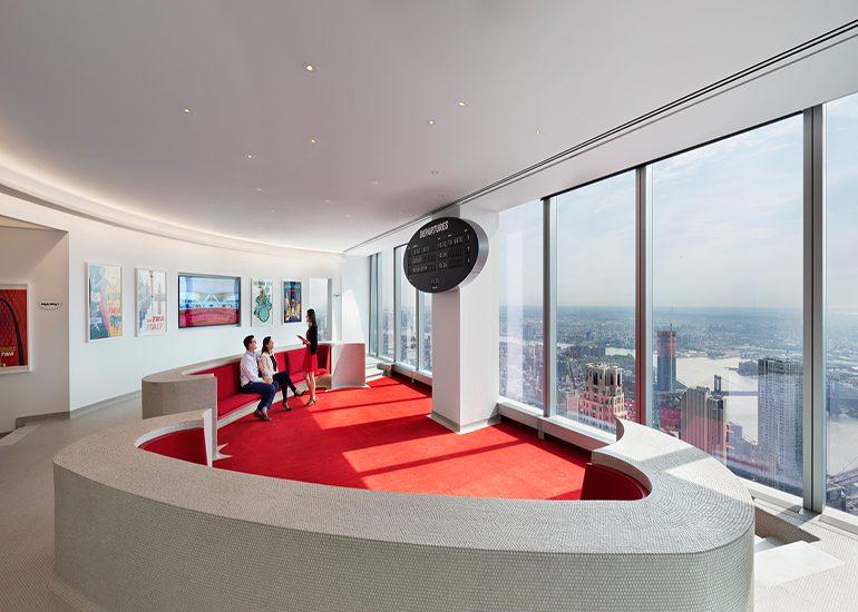 TWA Lounge at 1WTC