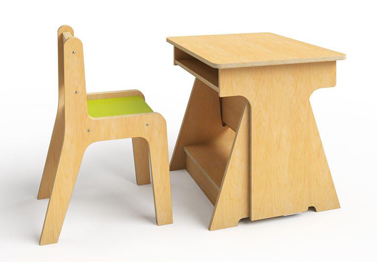 Kindergarten Convertible Desk