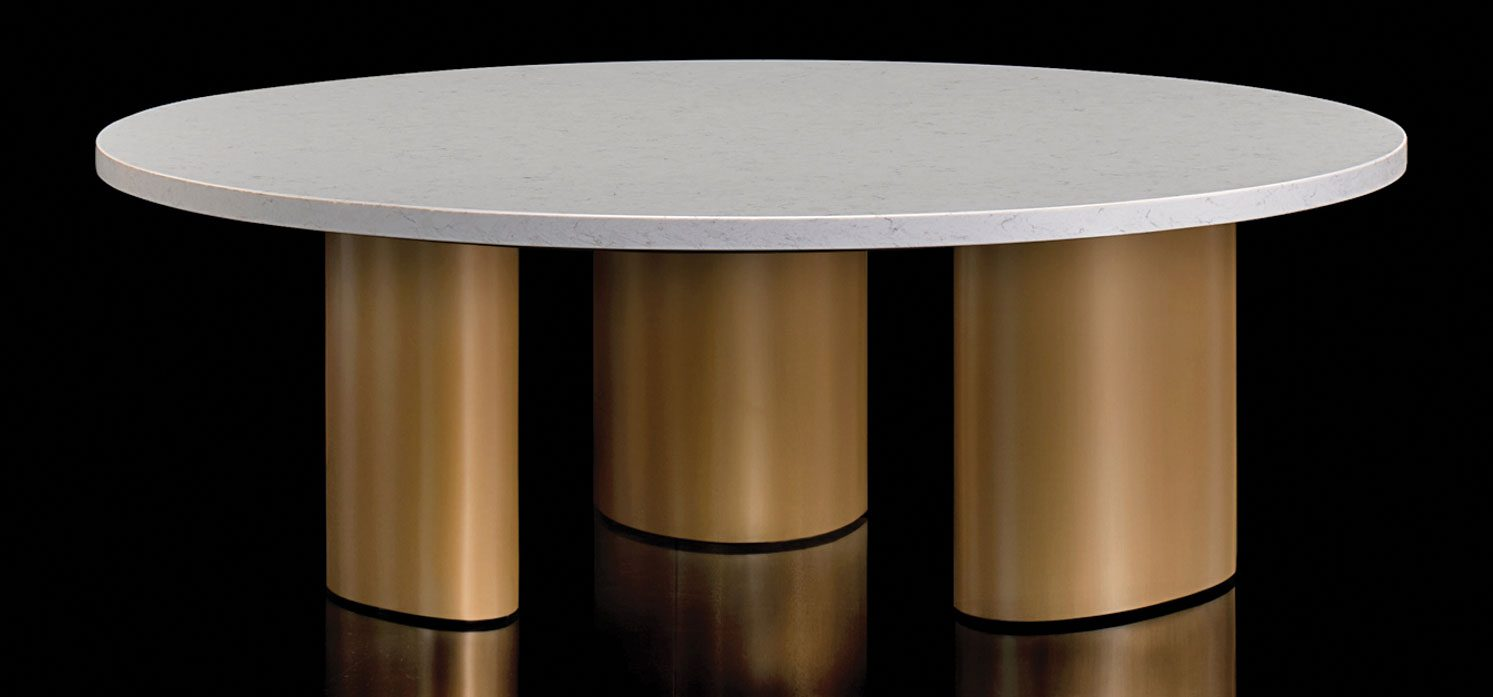 Bernhardt Design table inspired by UFOs.