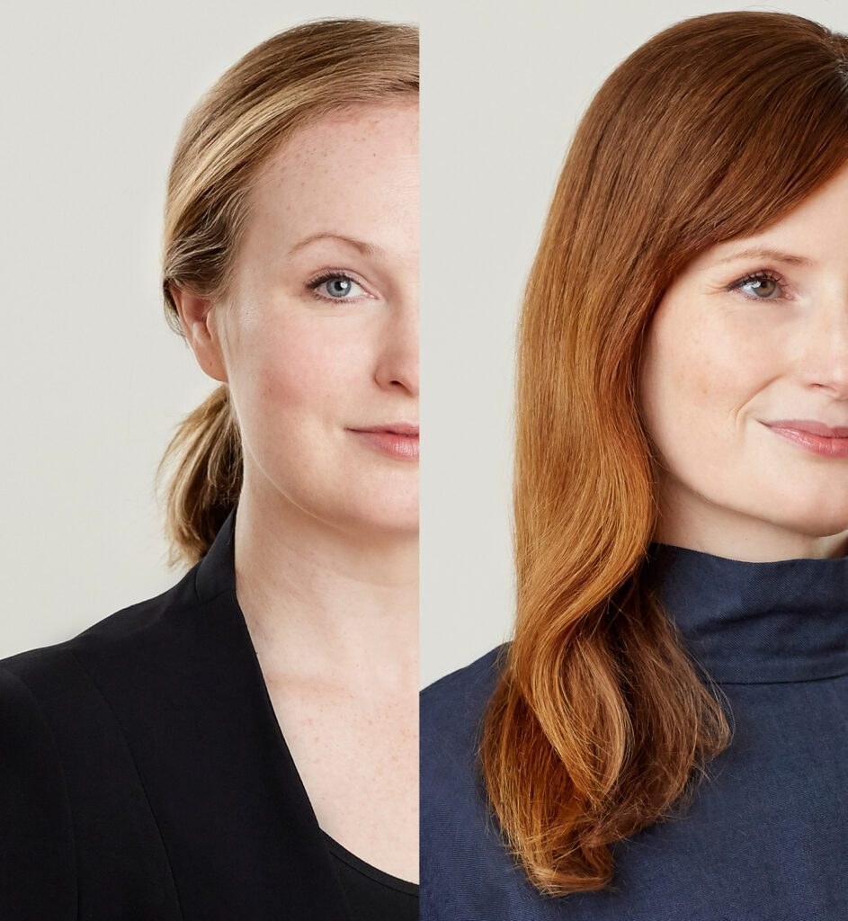 Anda French (left) and Jenny French (right). Photography © Steph Larsen