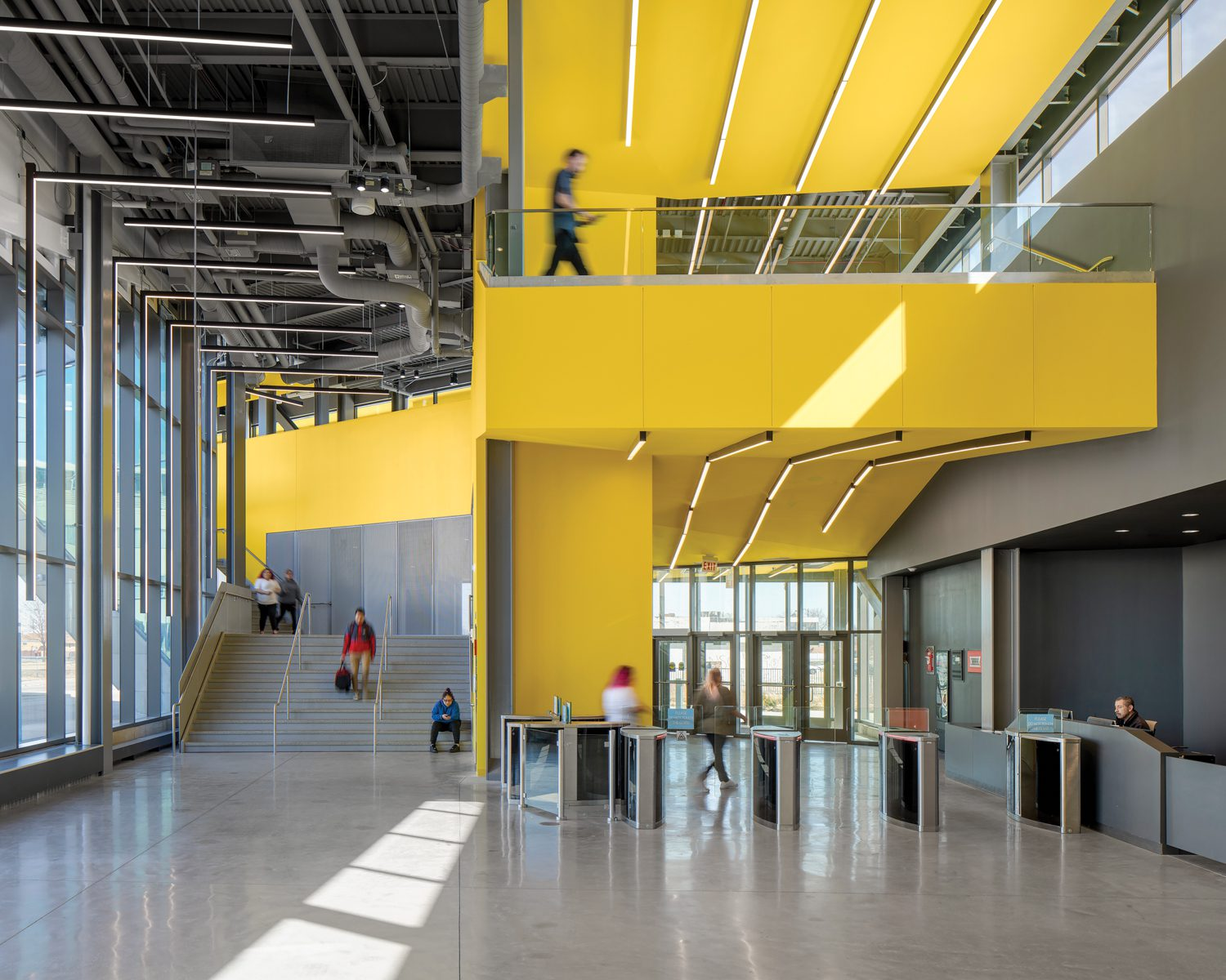 Daley College Manufacturing Technology & Engineering Center, Chicago, by JGMA.