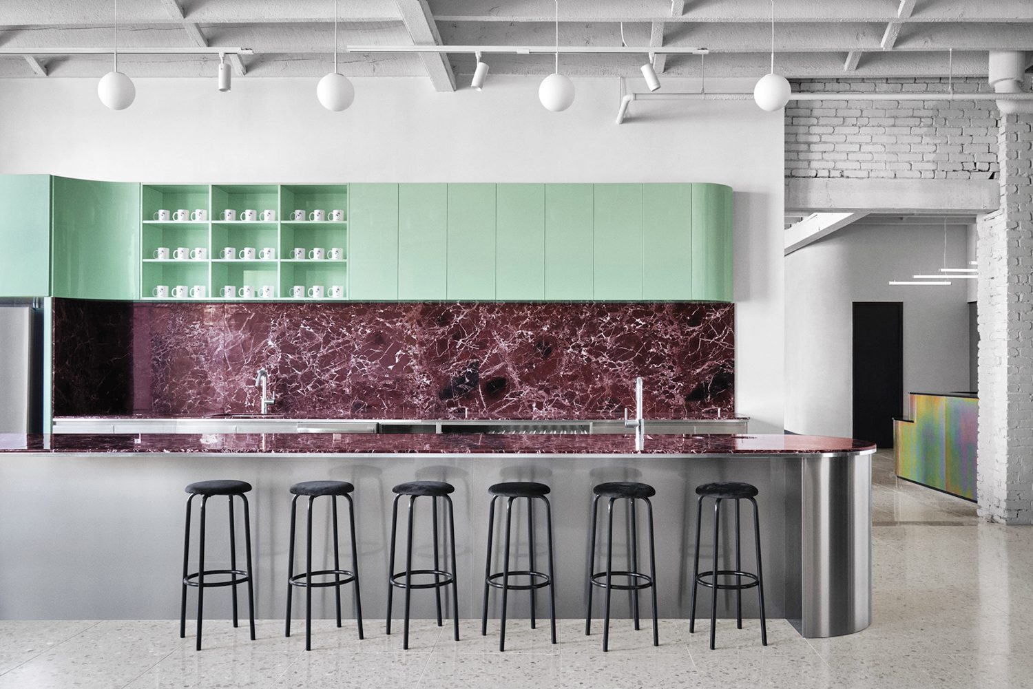 Spatial by Ivy Studio in Montreal, Canada. Photography by Alex Lesage.