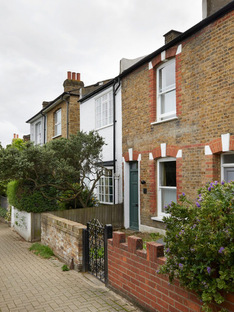 The property, Wandsworth Cottage, is a small Victorian terrace house originally built as a modest workers' cottage.
