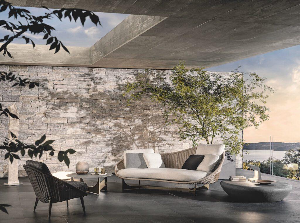 Lido Cord outdoor furnishings.