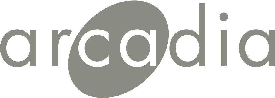 Arcadia logo.