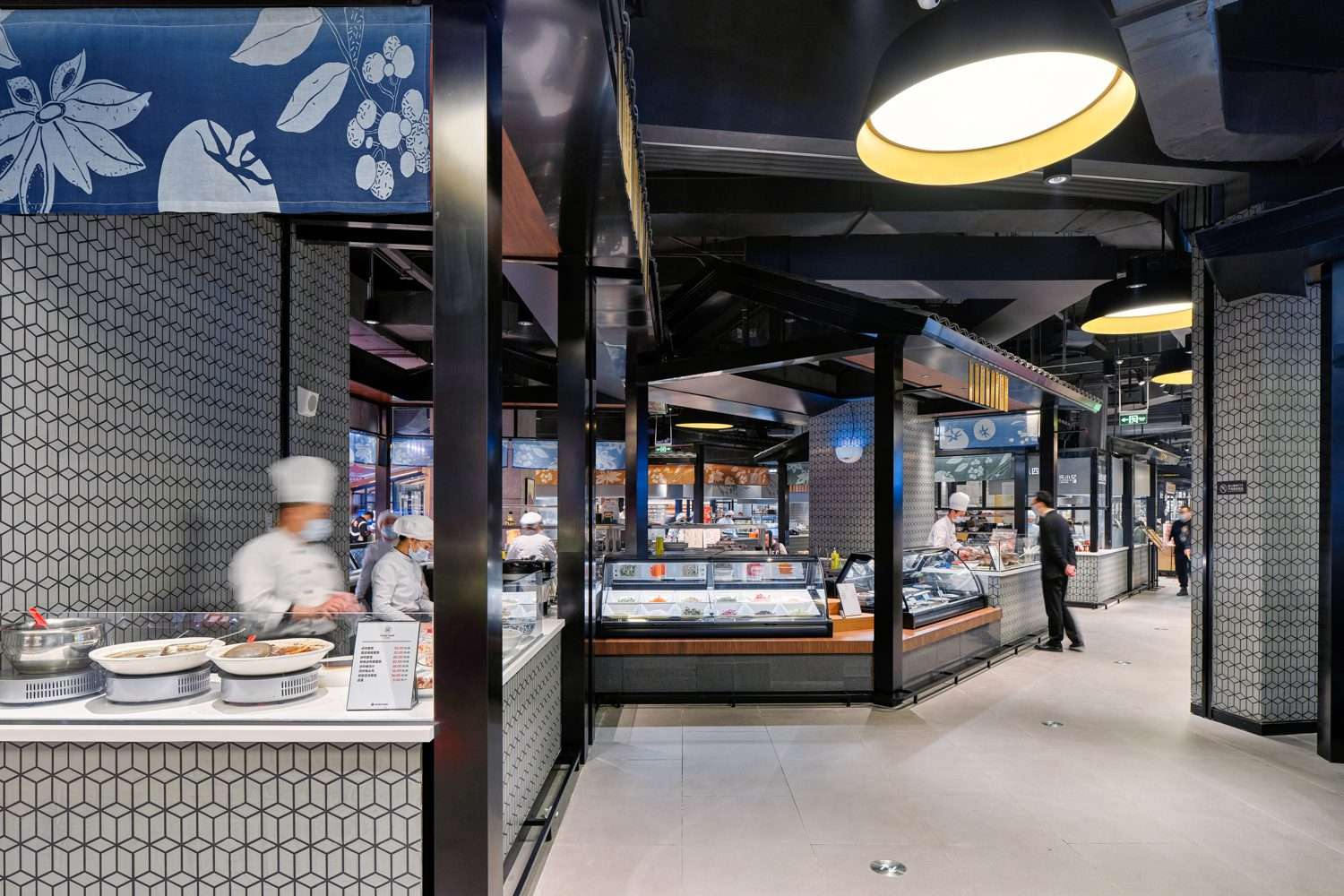 The design aims to help chefs and brands promote themselves.