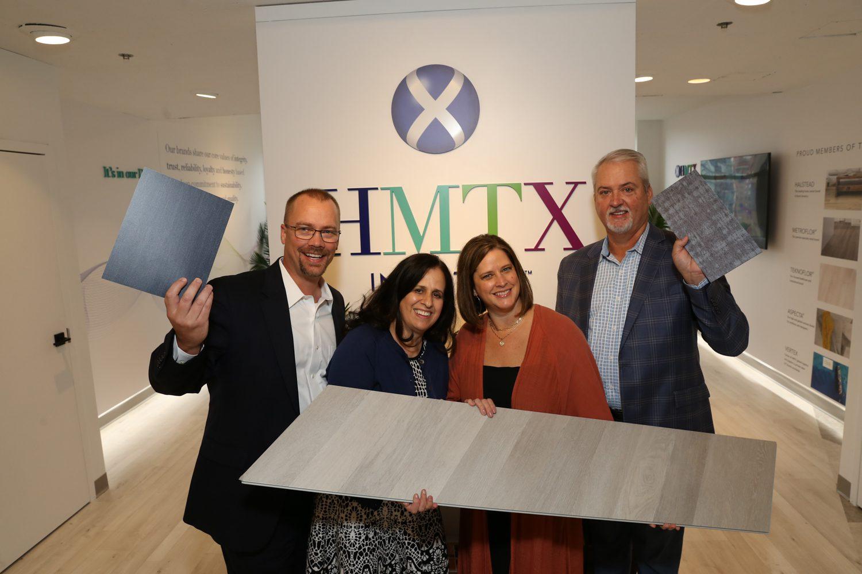 Alan Rowell, Rochelle Routman, Tiffany Davis, and Jeff Collum of HMTX Industries.