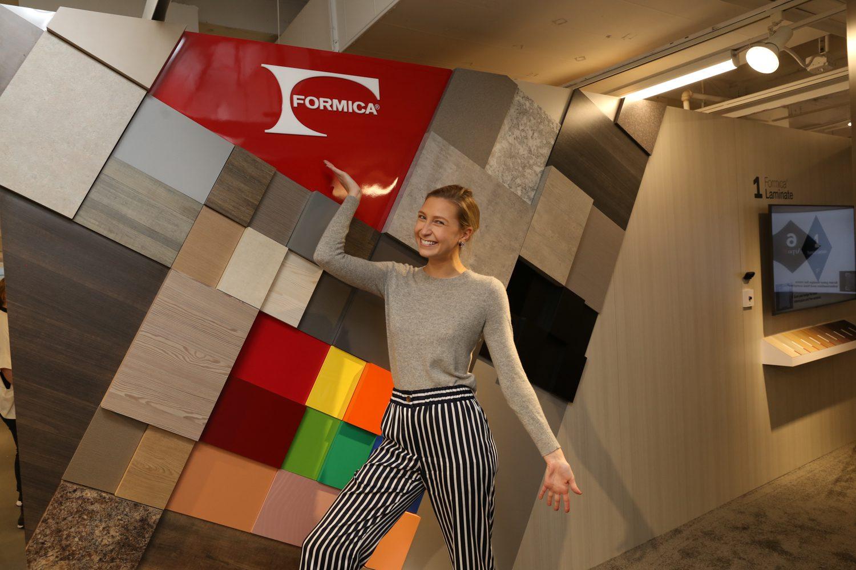Lauren Bettenga, PR manager for Formica.