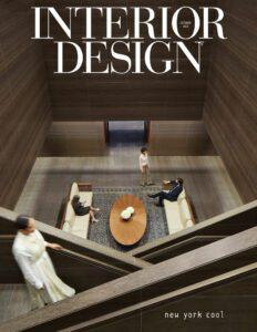 Interior Design October Issue Cover